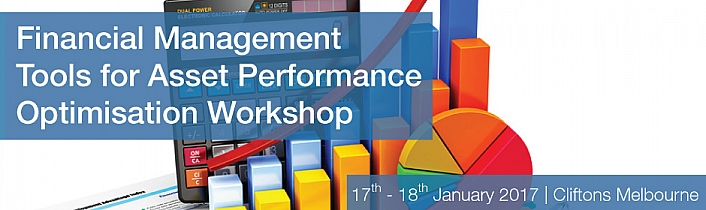 Financial Management Tools for Asset Performance Optimisation Workshop