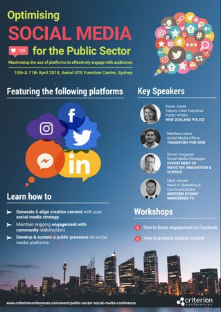 Optimising Social Media for the Public Sector