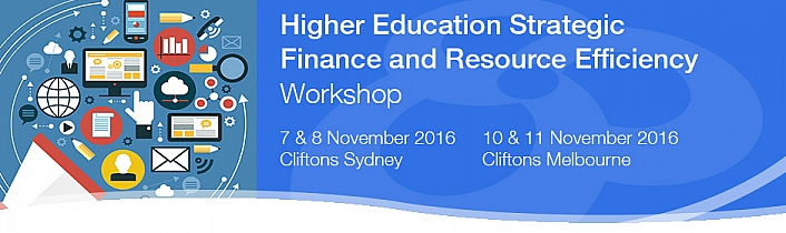 Higher Education Strategic Finance and Resource Efficiency Workshop