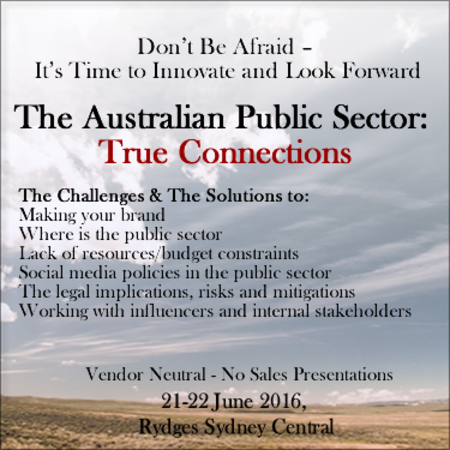 The Australian Public Sector: True Connections
