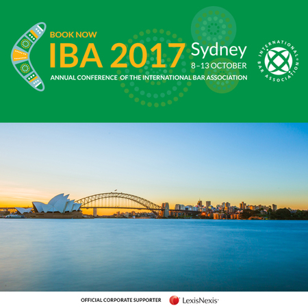 IBA Annual Conference Sydney October 2017