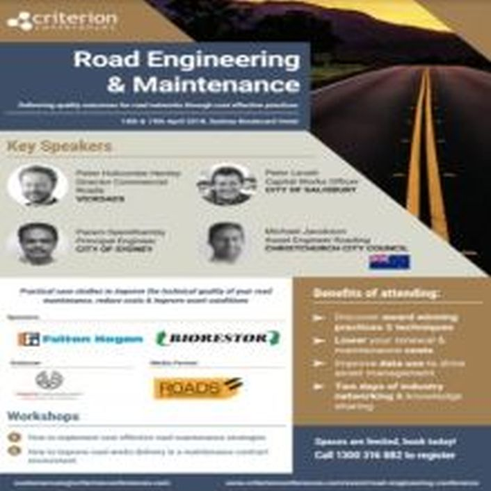 Road Engineering and Maintenance