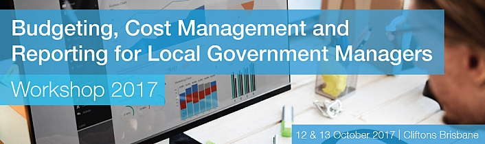 Budgeting, Cost Management and Reporting for Local Government Managers Workshop 2017