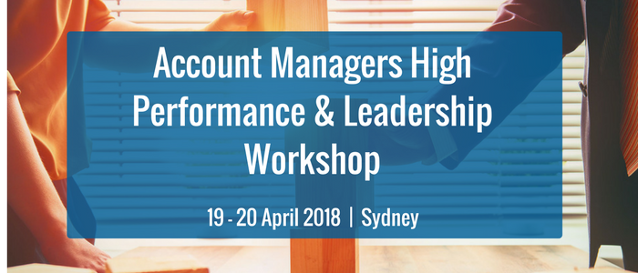 Account Managers High Performance & Leadership Workshop