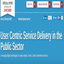 User Centric Service Delivery in the Public Sector