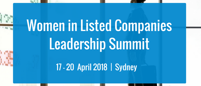 Women in Listed Companies Leadership Summit