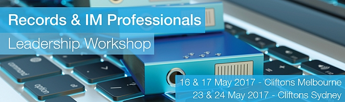 Records & IM Professionals Leadership Workshop