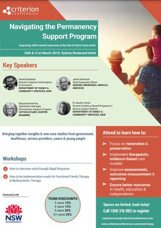 Navigating the Permanency Support Program