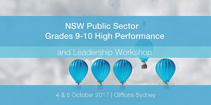 NSW Public Sector Grades 9-10 High Performance and Leadership Workshop