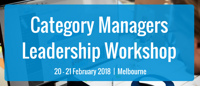 Category Managers Leadership Workshop