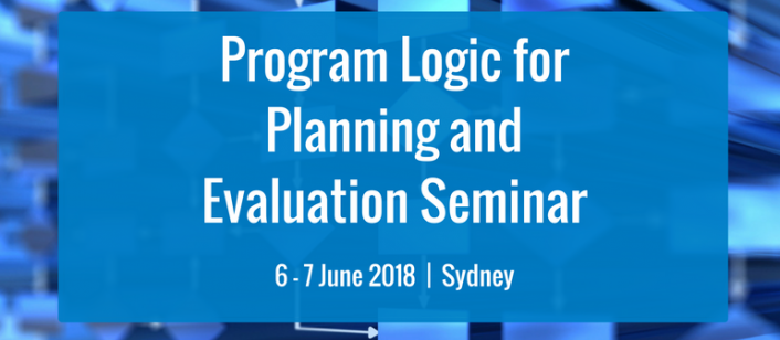 Program Logic for Planning and Evaluation Seminar