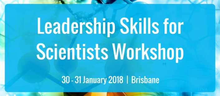 Leadership Skills for Scientists Workshop