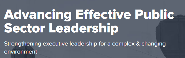 Advancing Effective Public Sector Leadership
