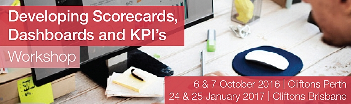Public Sector Finance Series: Developing Scorecards, Dashboards and KPIs Workshop