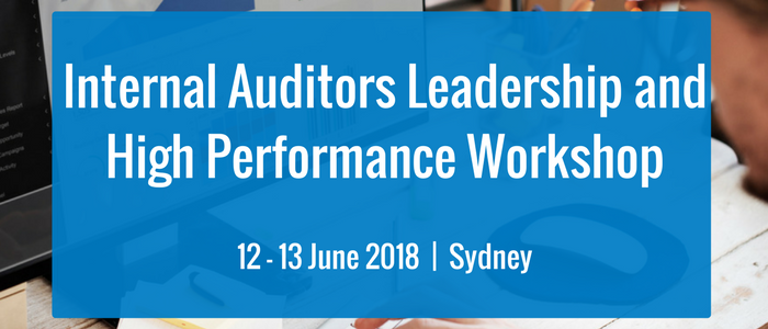 Internal Auditors Leadership and High Performance Workshop