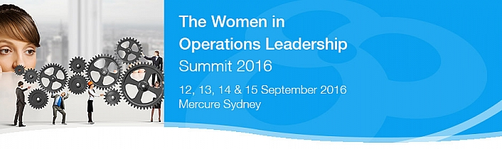Women in Operations Leadership Summit 2016