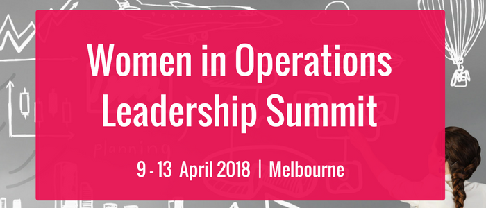 4th Women in Operations Leadership Summit