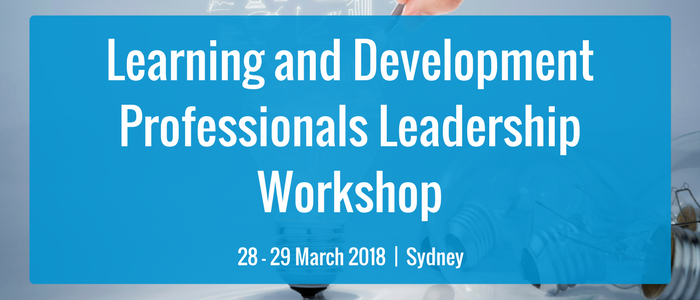 Learning and Development Professionals Leadership Workshop