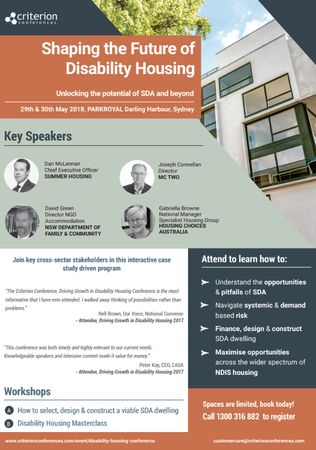 Shaping the Future of Disability Housing