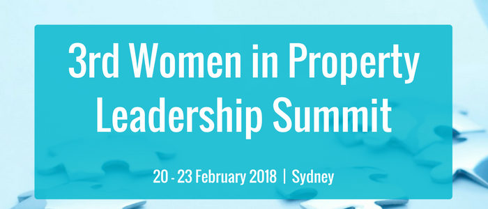 The 3rd Women in Property Leadership Summit 2018
