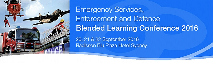 Emergency Services, Enforcement and Defence Blended Learning Conference 2016