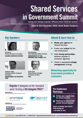 Shared Services in Government Summit