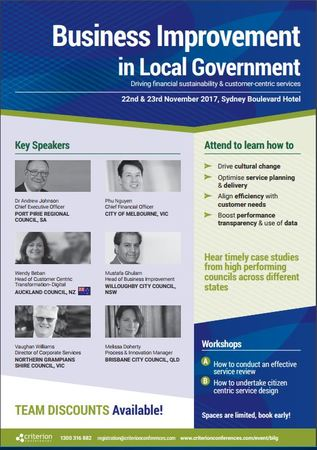 Business Improvement in Local Government