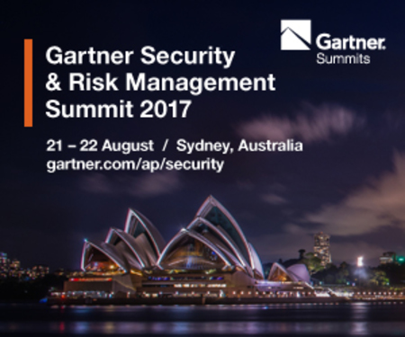 Gartner Security and Risk Management Summit 2017