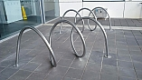 LYELL MCEWIN HOSPITAL BIKE RACKS