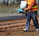 Fixing road failures by deep patching on sealed roads with PolyCom