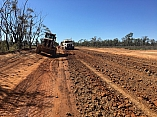 QLD council uses PolyCom stabilising aid for safer commute on agricultural haul road