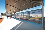 Custom designed walkways for Adelaide Airport