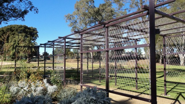 Flexmesh Stainless Steel Wire Mesh Used At Grape Walk