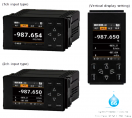 New tachometer, speedmeter & flow totalizer displays
