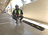 Wheel Stops introduced at Kellyville Woolworths