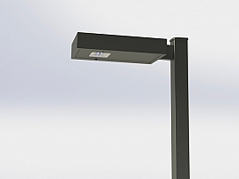 SCL-2 Series Solar LED integrated commercial light by ORION SOLAR, QLD 4213