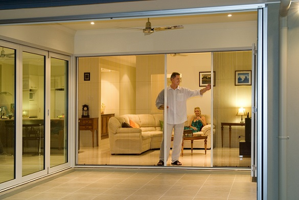 Retractable Fly Screens For Bi Fold Doors French And