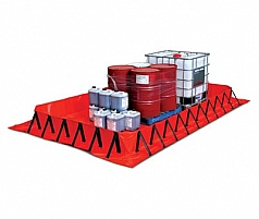 Collapsible Bunds by GLOBAL SPILL CONTROL, VIC 3074