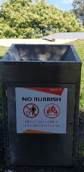 Hot Coal Bin By Scully Outdoor Designs Australia