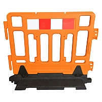 Portable Plastic Fence Barrier by Safety Xpress, VIC 3179