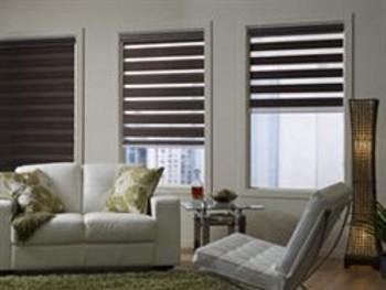 Transition roller blinds by blinds online for Interieur bedrijf