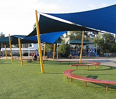 Twisted Shade Sails by SHADY PLACES PTY LTD, VIC 3029