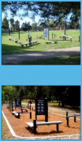 Exersite exercise station by FITNESS TRAILS, ACT 2607