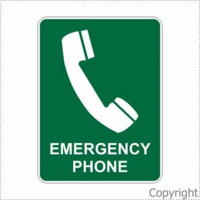 Emergency Phone Sign By Wilcox Safety Amp Signs Pty Ltd