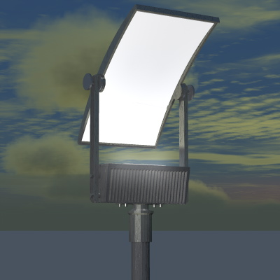 ASF - Aeris™ Architectural Floodlight HID CFL Out