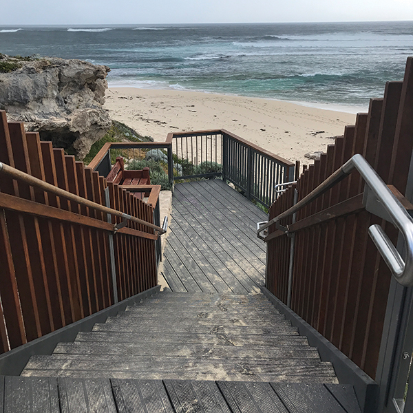 Wood Plastic Composite Boardwalks by ADVANCED PLASTIC RECYCLING