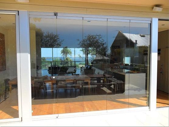 Frameless Glass Doors By Nu Line Windows