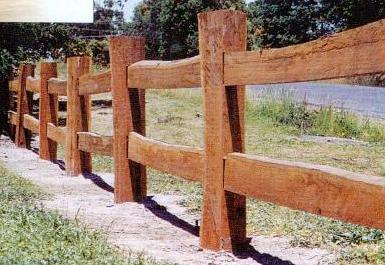Rustic Fencing By NORWOOD PRODUCTS VIC 3220