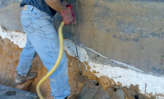 Grout injection by fondex constructions