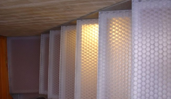 Decorative Translucent Panels : Decorative panels clear pep uv pc stage by allplastics